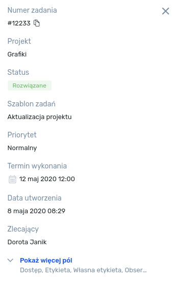 Status online użytkownika